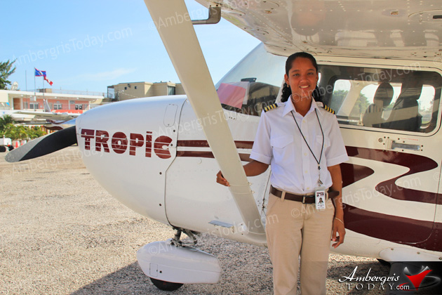 Ronise Caliz - Second Belizean Female Pilot