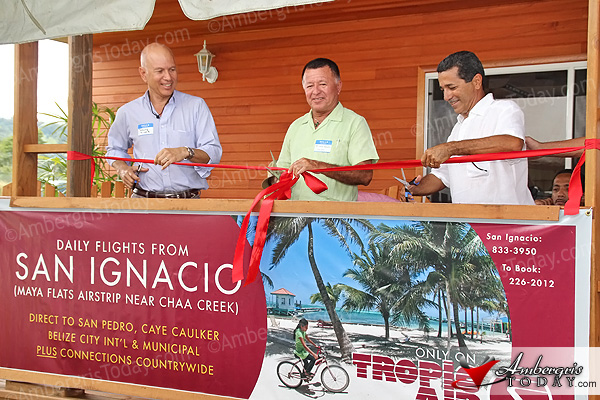 Tropic Air Officially Inaugurates San Ignacio Service and New Maya Flats Termina