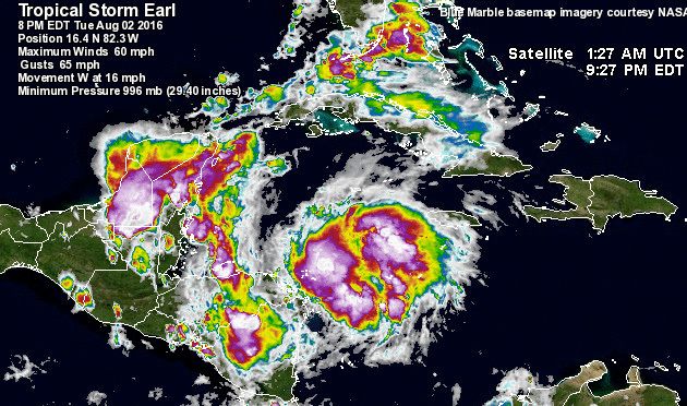 NEMO Releases Info on Evacuation for Tropical Storm Earl