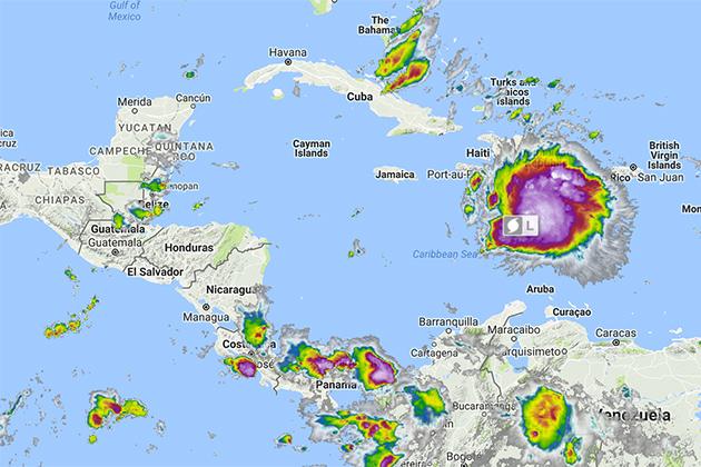 Belize Keeps Eye on Approaching Storm