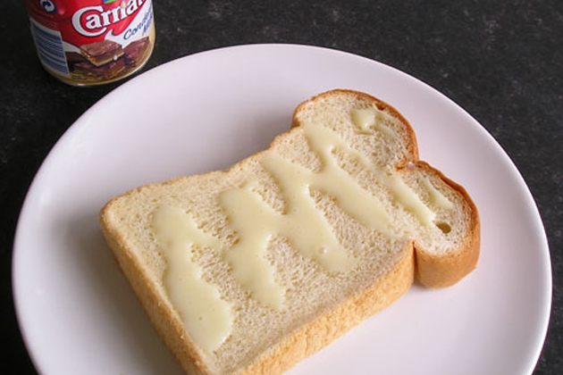 Condensed Milk with Bread