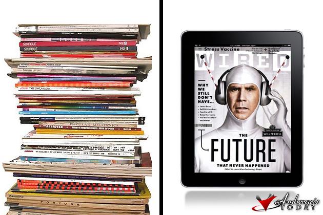 Old Magazines vs the ipad
