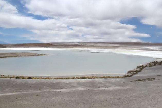 Salt Lake On North Ambergris Caye