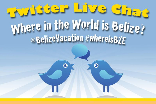 """Twitter Live Chat Asks """"Where is Belize"""""""