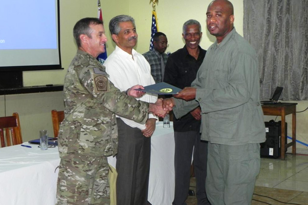 Belizean Officers Trained in Contraband Detection