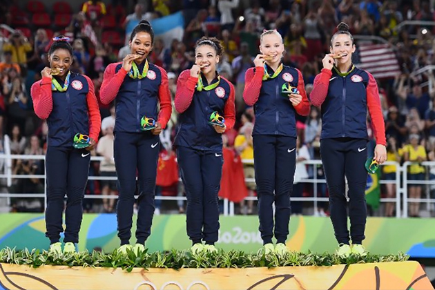 US Women's Gymnastics Team to Celebrate Olympic Gold in Belize