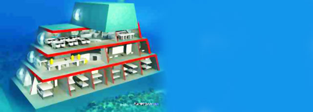 Proposed new ocean-floor research facility for Belize