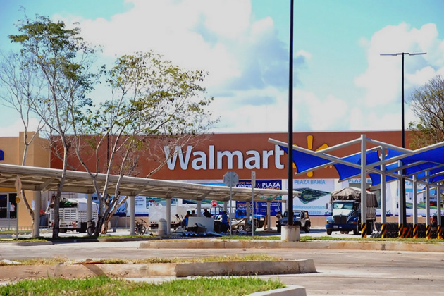 Walmart Shopping Center at Paza Bahia, Chetumal
