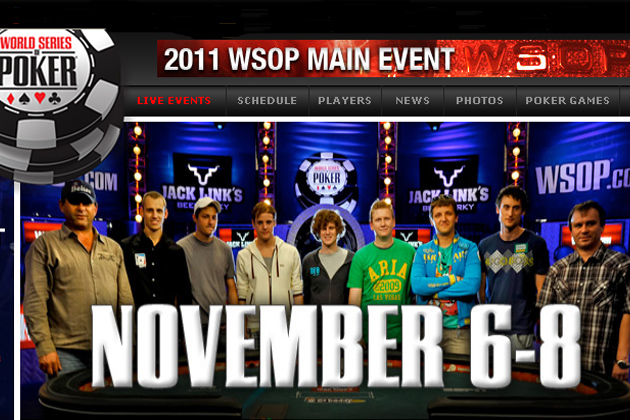 Bob Bounahra at World Series of Poker