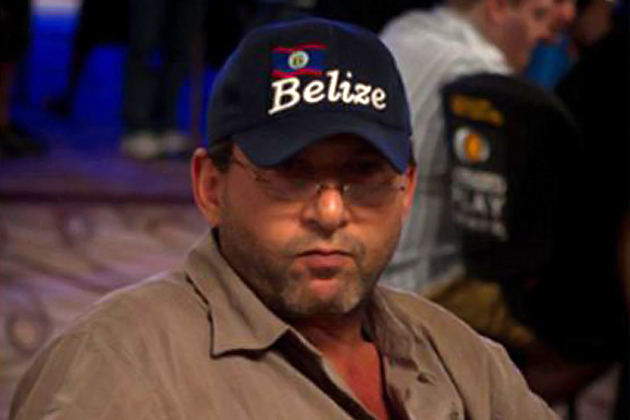 Belizean Poker Player at World Series of Poker Hold 'Em Championship