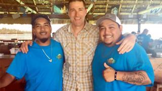 Celebrity Spotting: Lost Actor Matthew Fox Find his Way to Belize