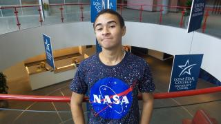 Belizean Teen Selected to Travel to NASA Space Center