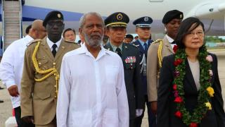 President of Taiwan Visits Belize