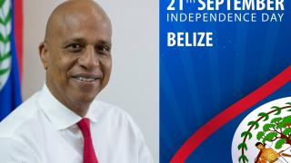 Independence Day Message from the Prime Minister of Belize, Rt. Hon. Dean Oliver Barrow