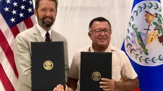 United States and Belize Sign Open Skies Air Transport Agreement
