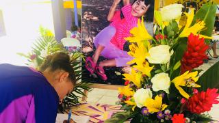Faye Lin Cannon's Father Holds Memorial for his Departed Daughter