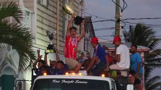 San Pedro Pirates Victory Parade