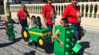 Colorful Parade Opens Child Stimulation Month in San Pedro