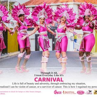 Special Envoy for Women and Children and the Belize Cancer Society Unveil 2019 Cancer Awareness Flyer