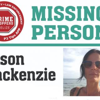 American Tourist Missing In Belize