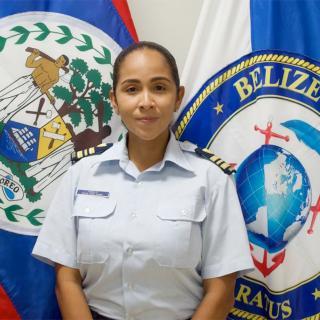 US Embassy Belize Highlights Alma Pinelo of Belize Coast Guard