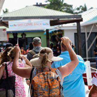 Carnival Vista Makes Line's First Call at Belize Since Resuming Service