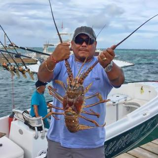 That's One Giant Lobster!!! - Belize lobster Season