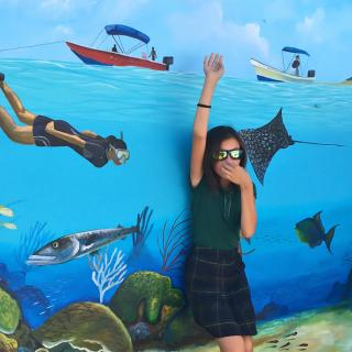 Hol Chan Office Pays Tribute to Belize Barrier Reef