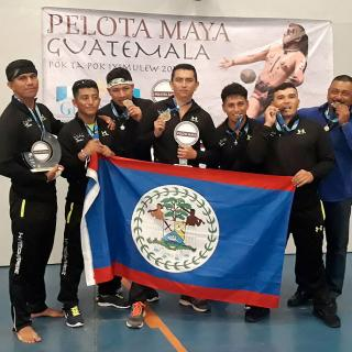 Belize Celebrates Win at Regional Maya Ball Game Tournament