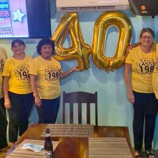 San Pedro High Class of 1980 Celebrates 40th Anniversary