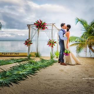 Destination Weddings in San Pedro Belize are Magical, Portofino Resort
