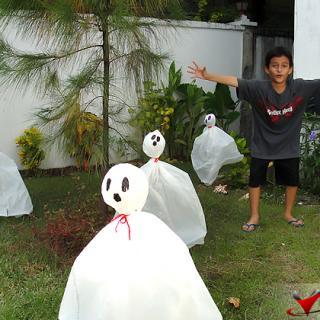 Halloween Garden Fun