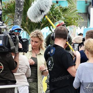 International Film Crew Spotted in San Pedro Belize