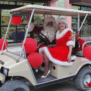 Cory and Janet McDermott are Mr. and Mrs. Claus