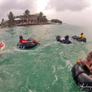 Go Island Tubing in Caye Caulker with Anda Da Wata Tours, Caye Caulker Split
