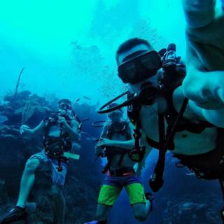 Scuba diving adventures in San Pedro, Ambergris Caye, Belize - Travel, Vacation