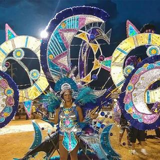 Titans Mas Band wins King and Queen of Belize Carnival Competition 2015