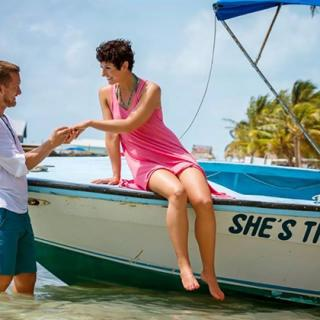 She's The One – Wedding Engagement in Ambergris Caye