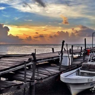 Sunrises in Ambergris Caye, Belize are nothing short of spectacular