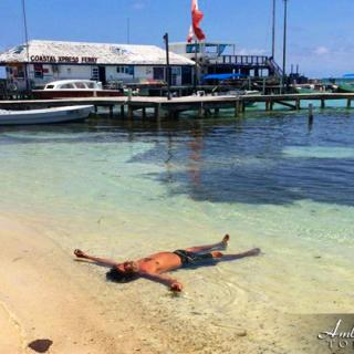 Recovering from Easter Break in San Pedro, Belize