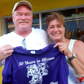 Mr. and Mrs. Bloom Celebrate Anniversary along with Belize