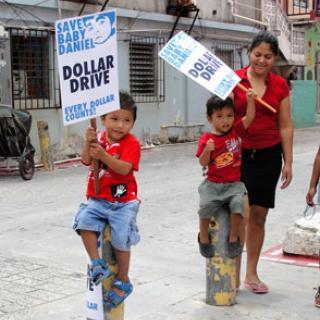 Dollar Drive fundraiser for Baby Daniel Estell