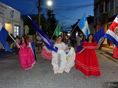Noche Centro Americana Celebrated in San Pedro
