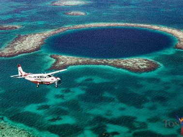 Tropic Air Announces Scheduled Tour Flights From Placencia To The Blue Hole