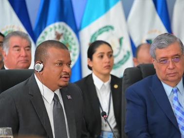 Belize Represented at Meeting of Vice Presidents of SICA in El Salvador
