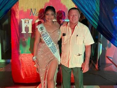 Nayobie Rivero is Miss Teen Mundial Belize