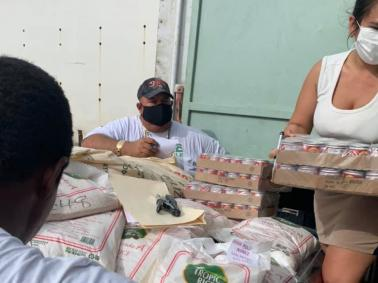 Food Drive From Belize City to San Pedro