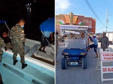 Hol Chan Marine Reserve Enforcement Activities