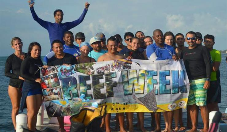 Reef Week 2018 Kick Off with Swim to The Reef