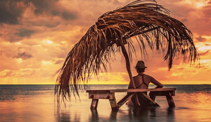 Amazing Belizean Sunset